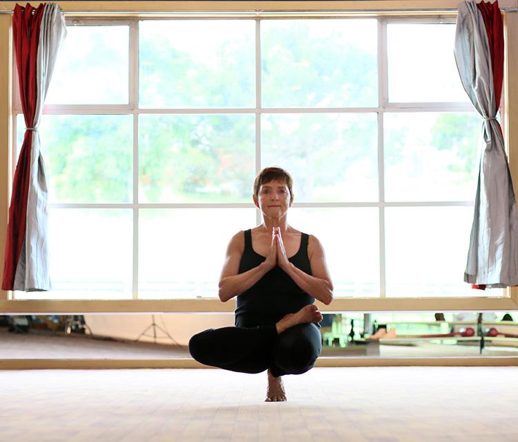 Lynn Whitlow Yoga Master