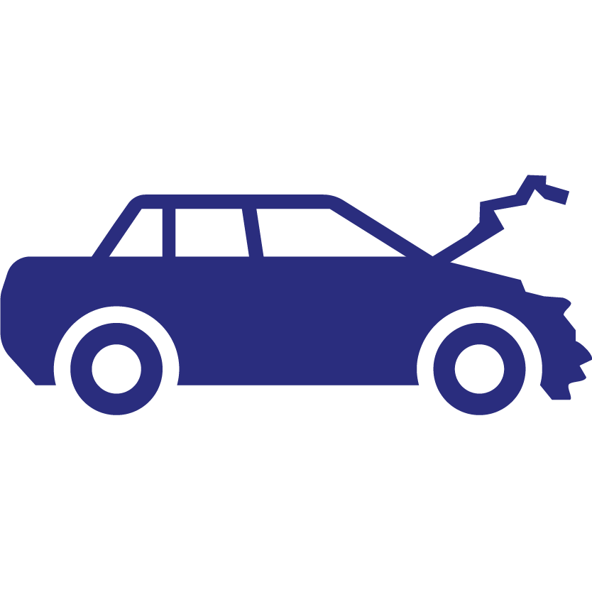 Automobile insurance icon
