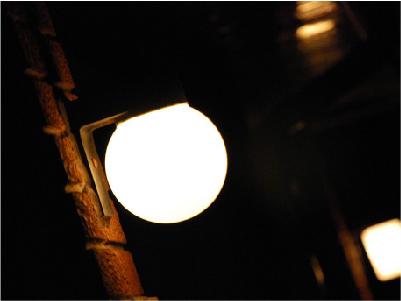 Bright streetlight