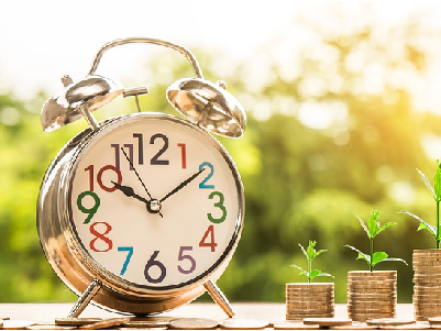 Alarm clock with change