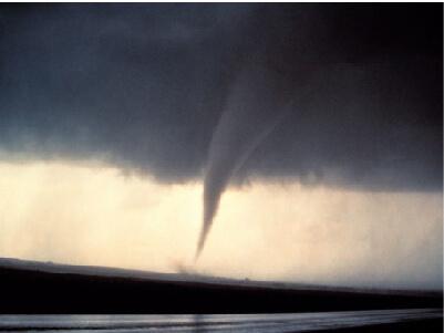 Tornado touched down