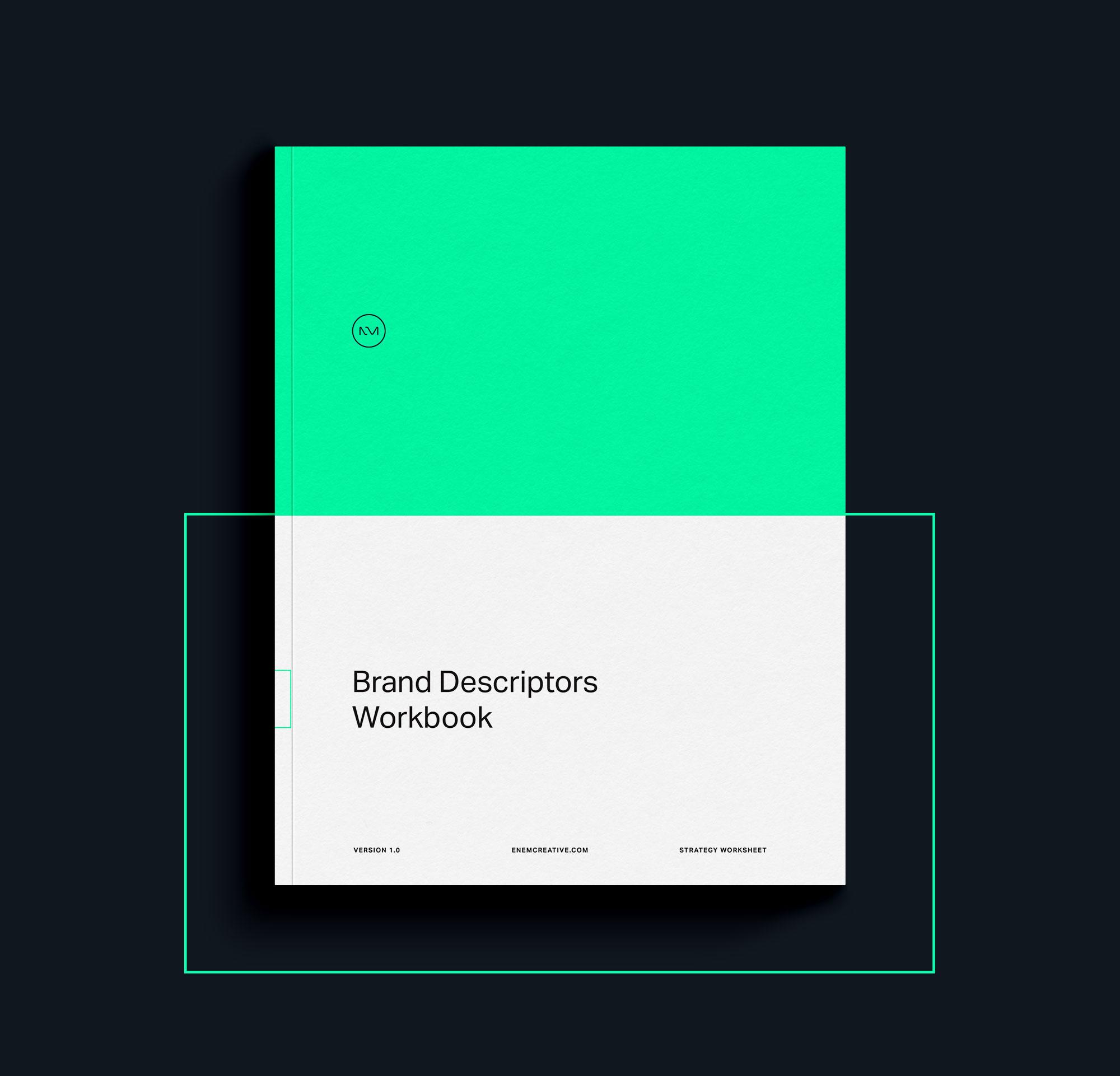 ENEM Creative Brand Descriptor Workbook