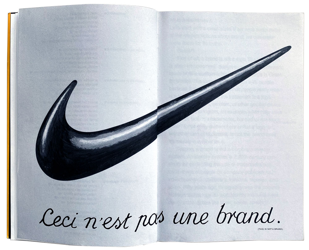 Nike Logo, This Is Not A Brand, The Brand Gap by Marty Neumeier