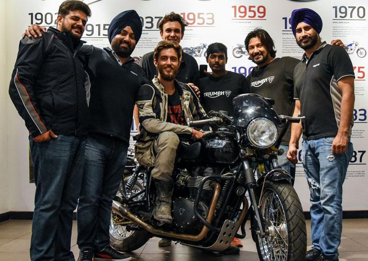 Team Triumph in India