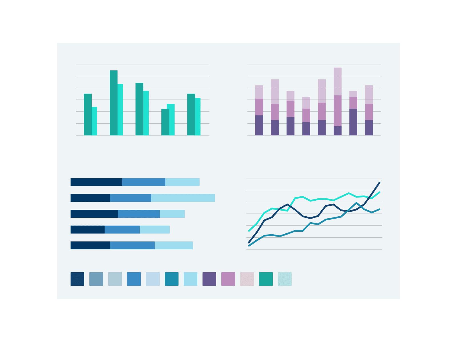 NSX – infographics palette