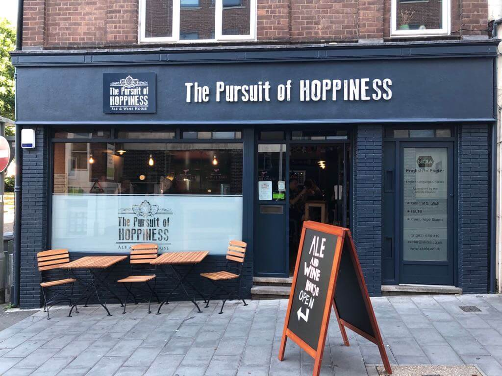 The Pursuit of Hoppiness, Exeter