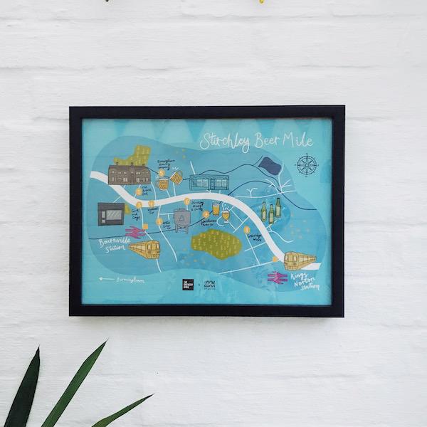 Stirchley Beer Mile Map - Homepage