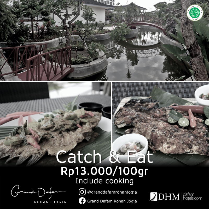 GDRJ CATCH & EAT