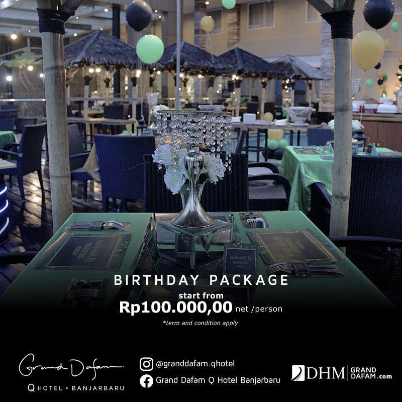 GDQHB Birthday Package