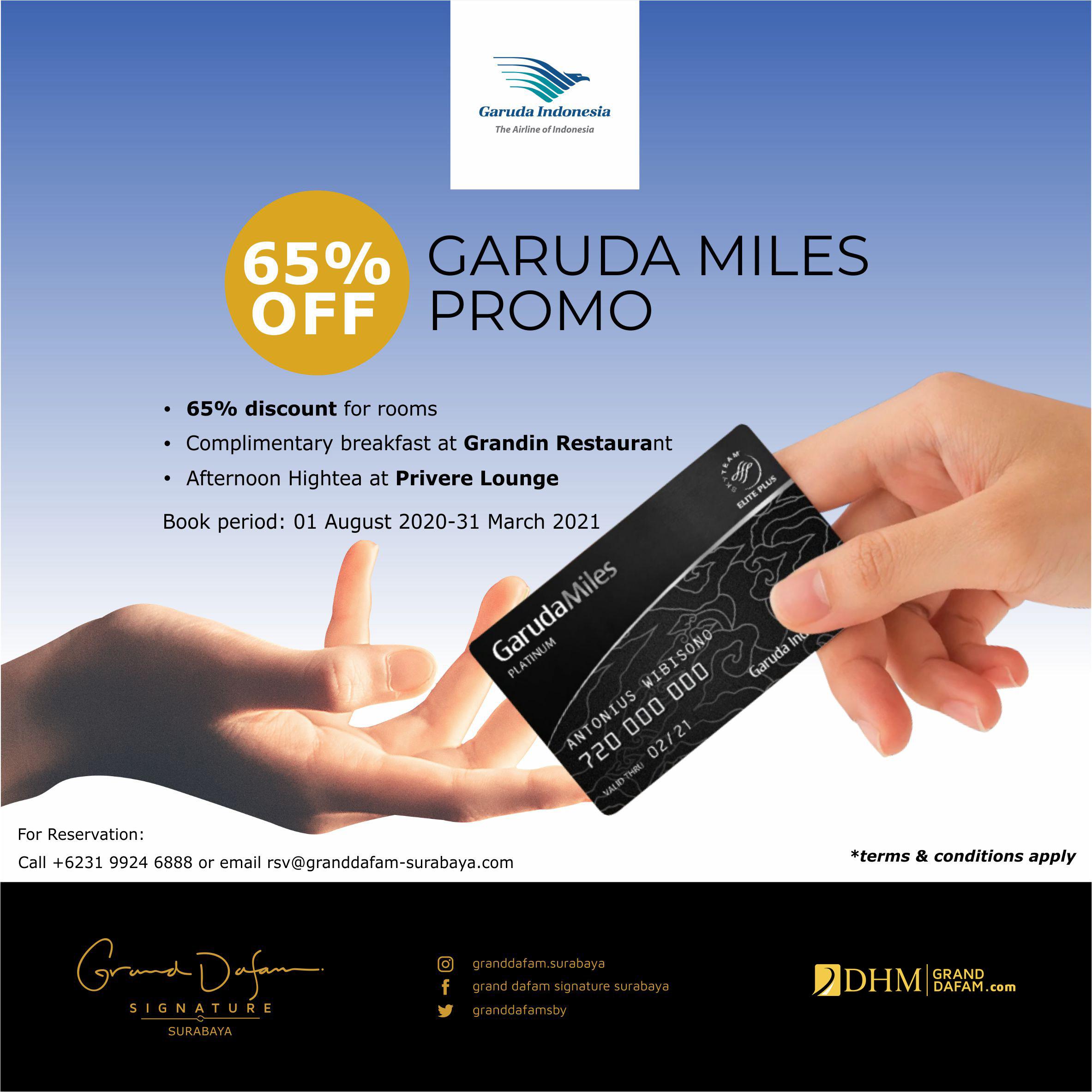 GDSS Garuda Miles Promo