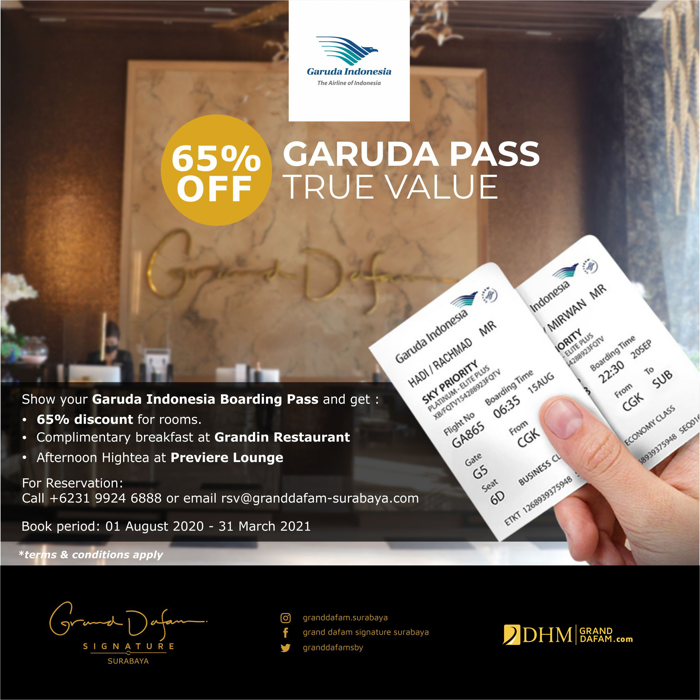 GDSS Garuda Pass Travel Value