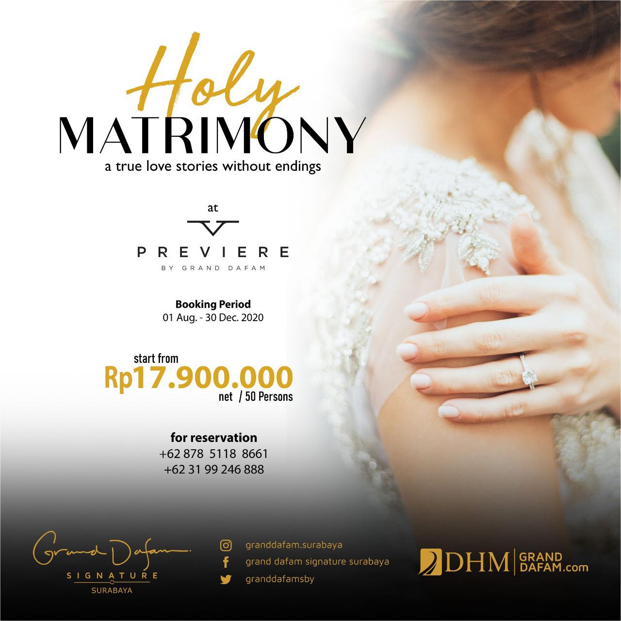GDSS Holy Matrimony