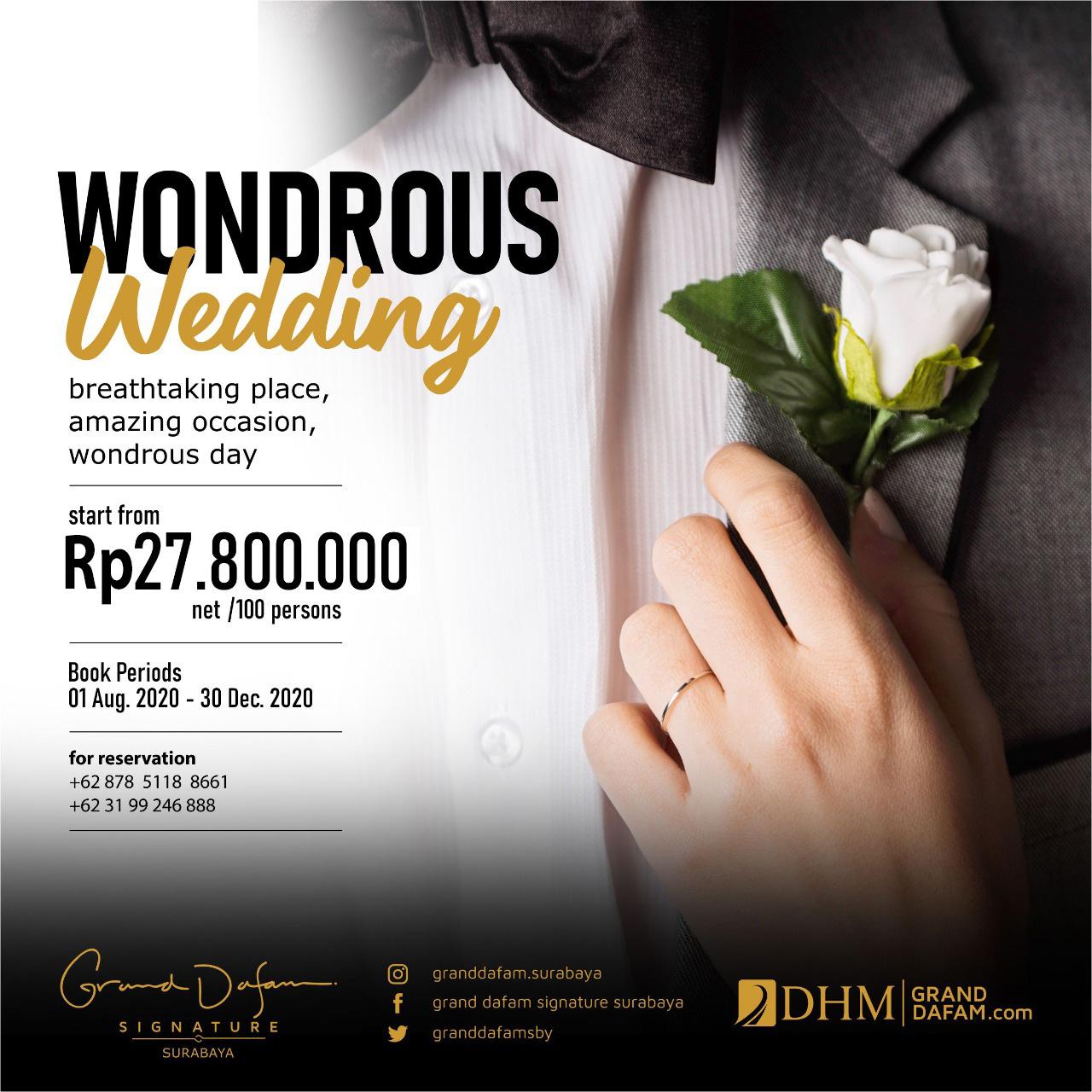 GDSS Wondrous Wedding