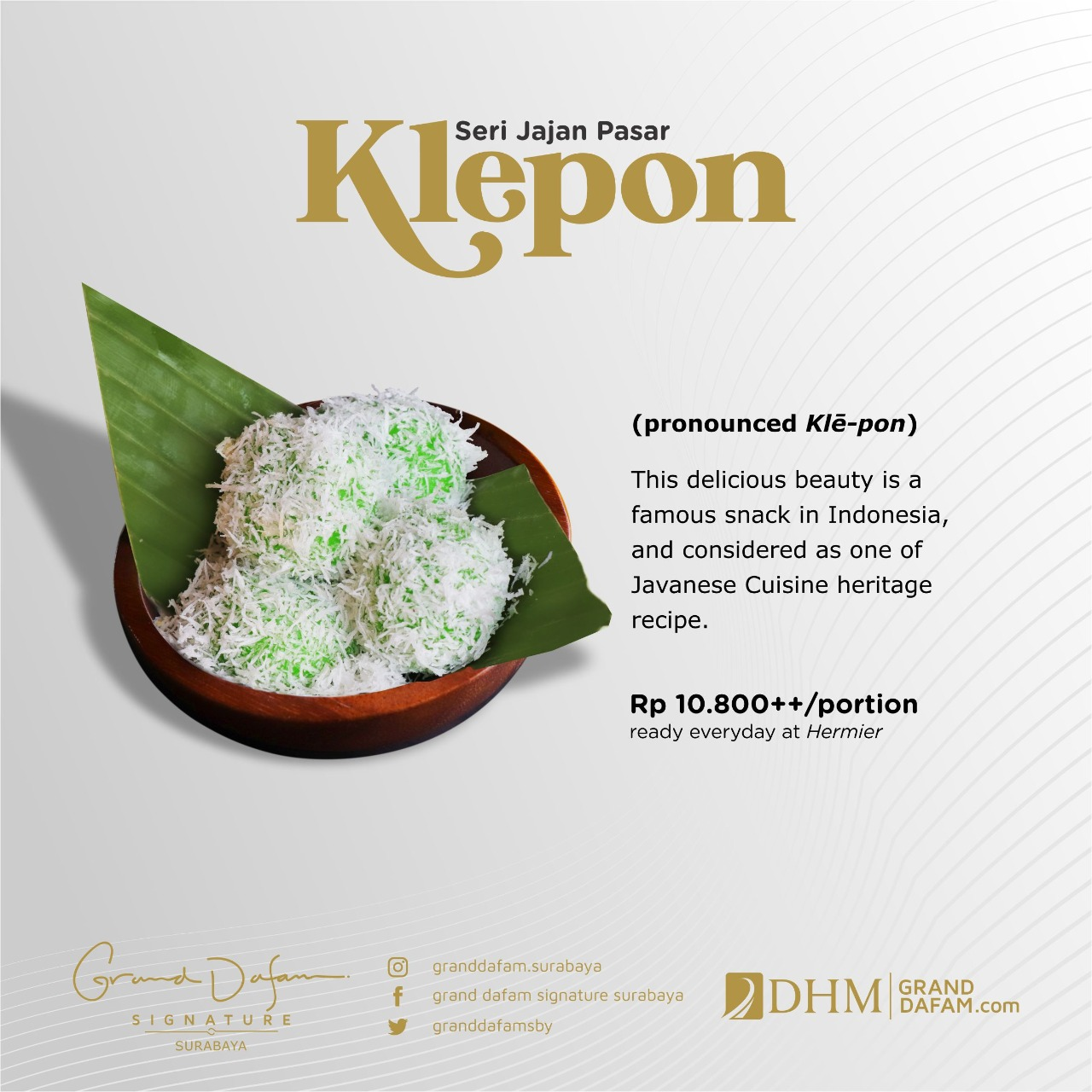 GDSS Klepon