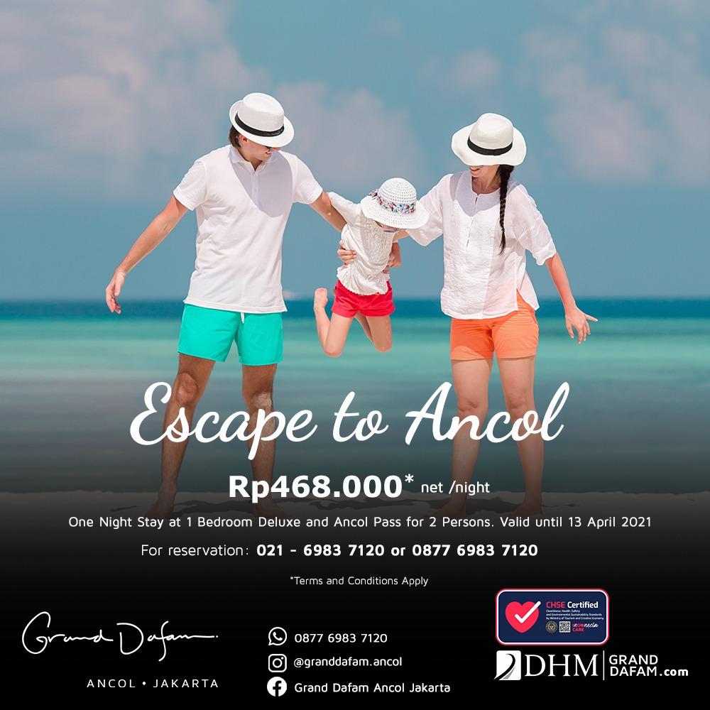 GDAJ Escape to Ancol