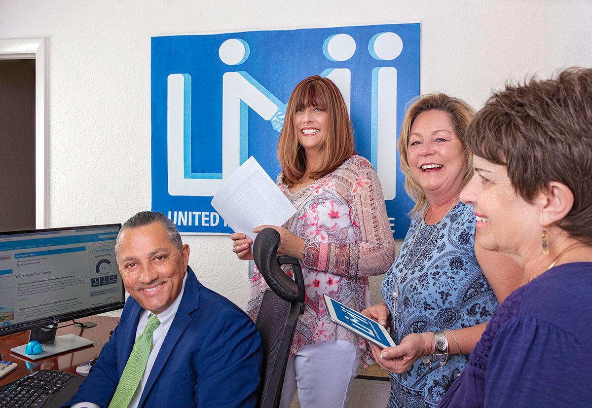 United Members Insurance Staff