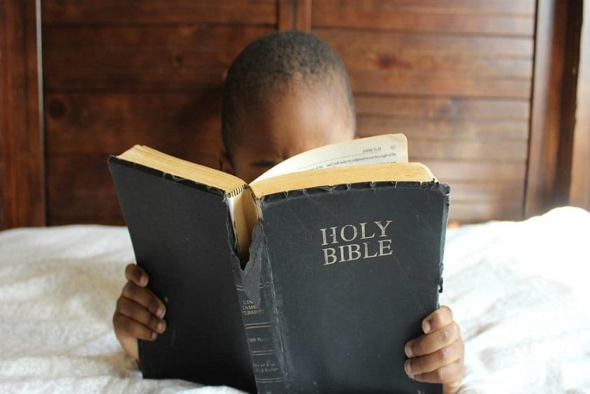 child reading