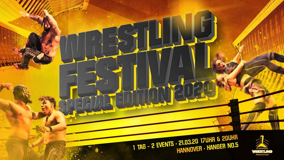 Wrestling Festival SPECIAL EDITION am 21.03.2020