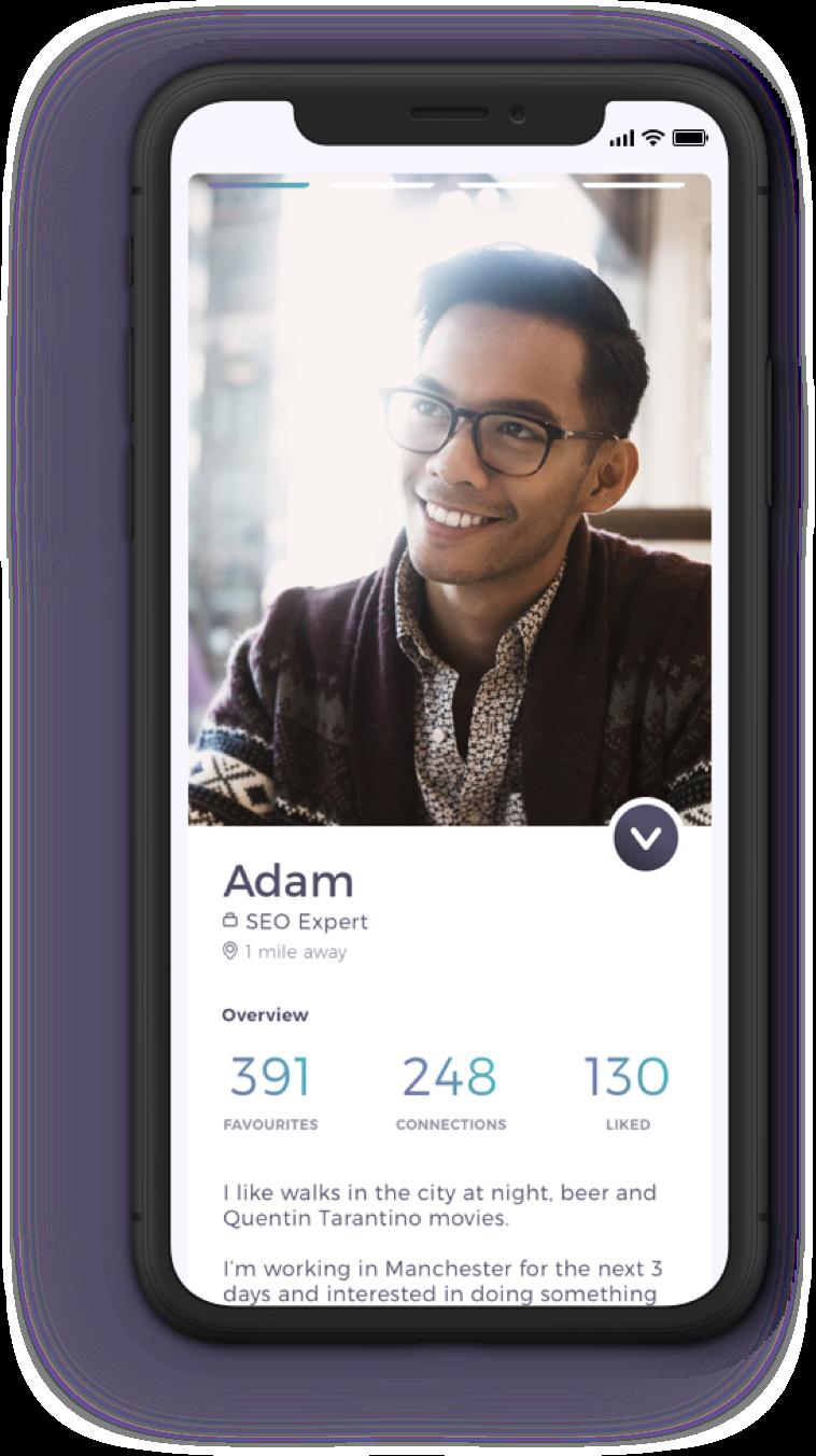 Profile Screen Travelbuddy App