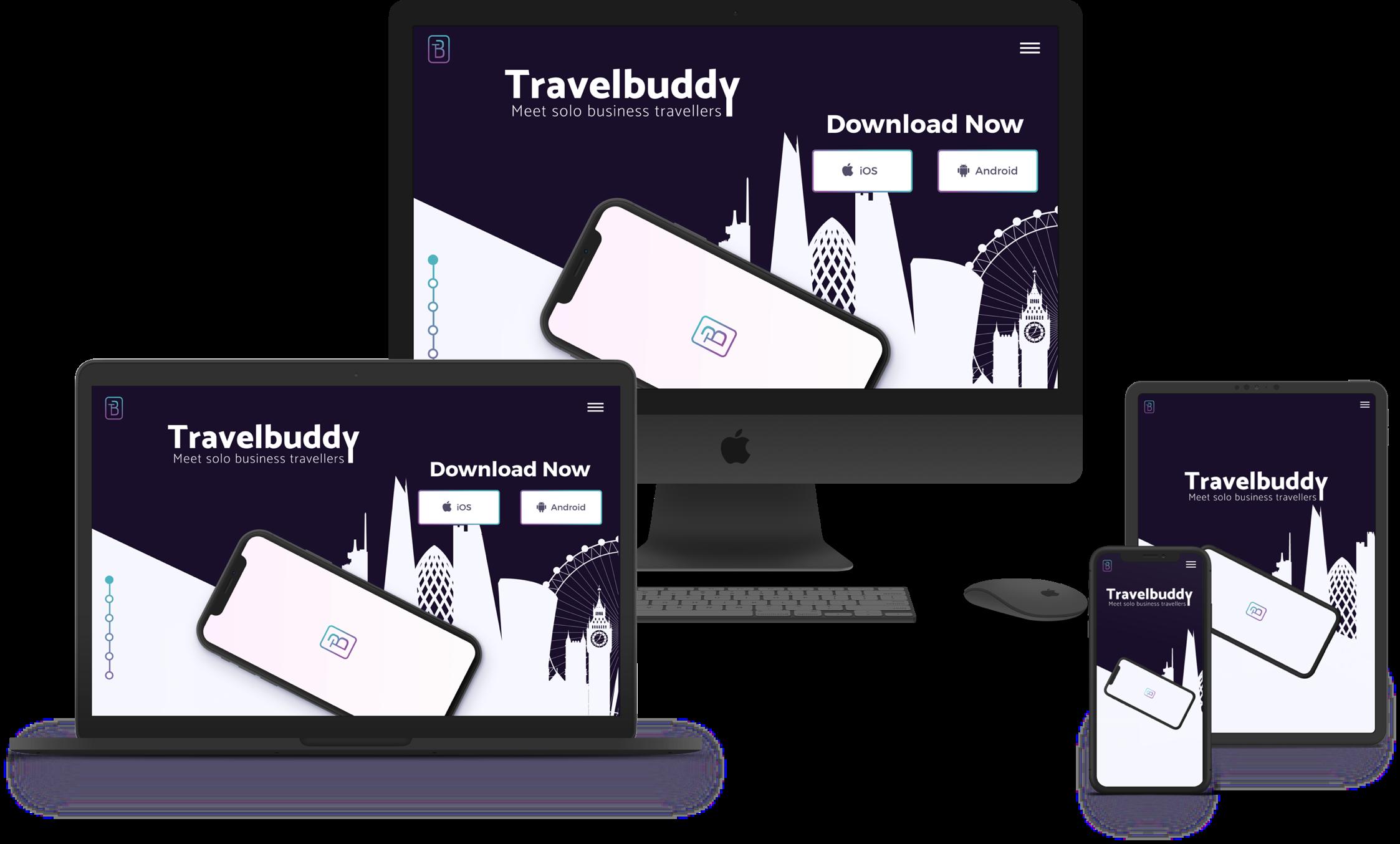 Full Device Website Mockup