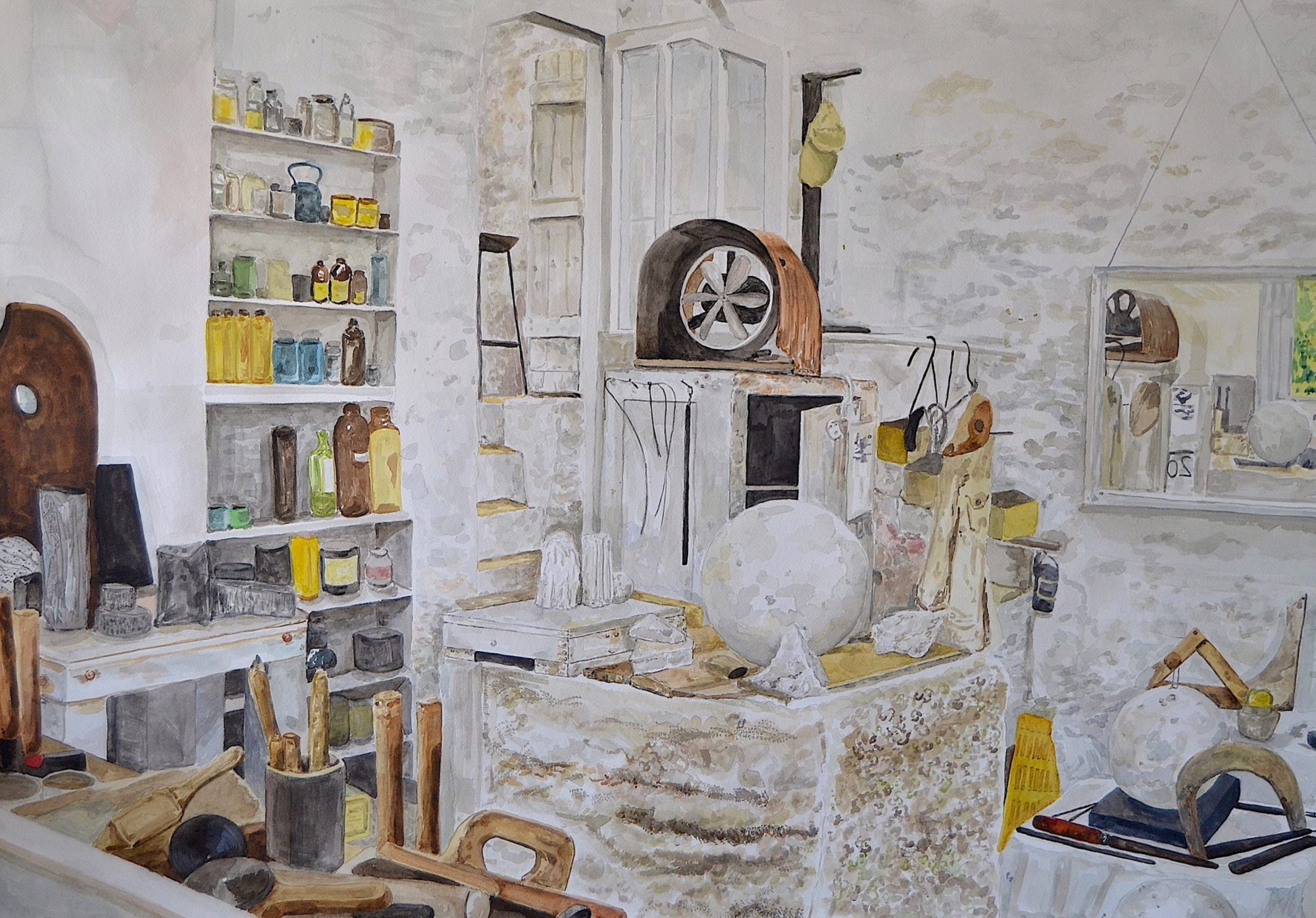Studio of Barbara Hepworth, St Ives