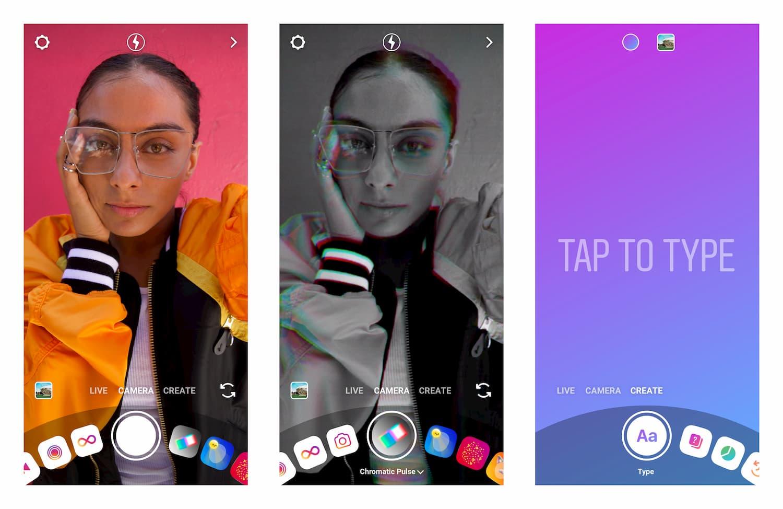 Instagram's Create Mode