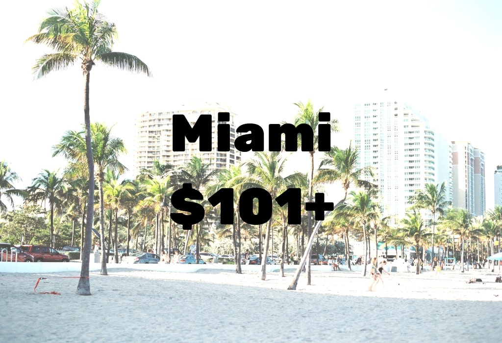 Image of deal to Miami for $101