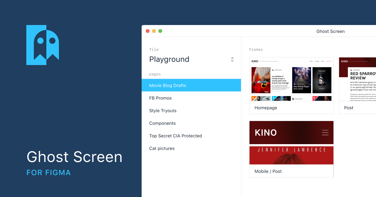 Ghost Screen for Figma on Indie Hackers