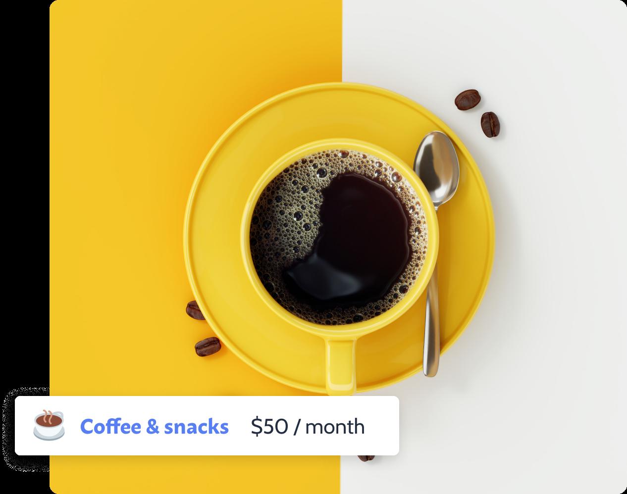 Booster program | Coffee & snacks