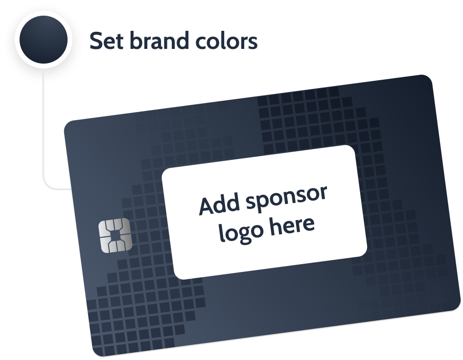 easy way to brand virtual event credit cards and create new sponsorship revenue