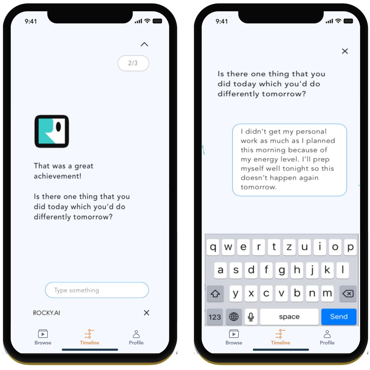 Chatbot ROCKY.AI Artificial Intelligence