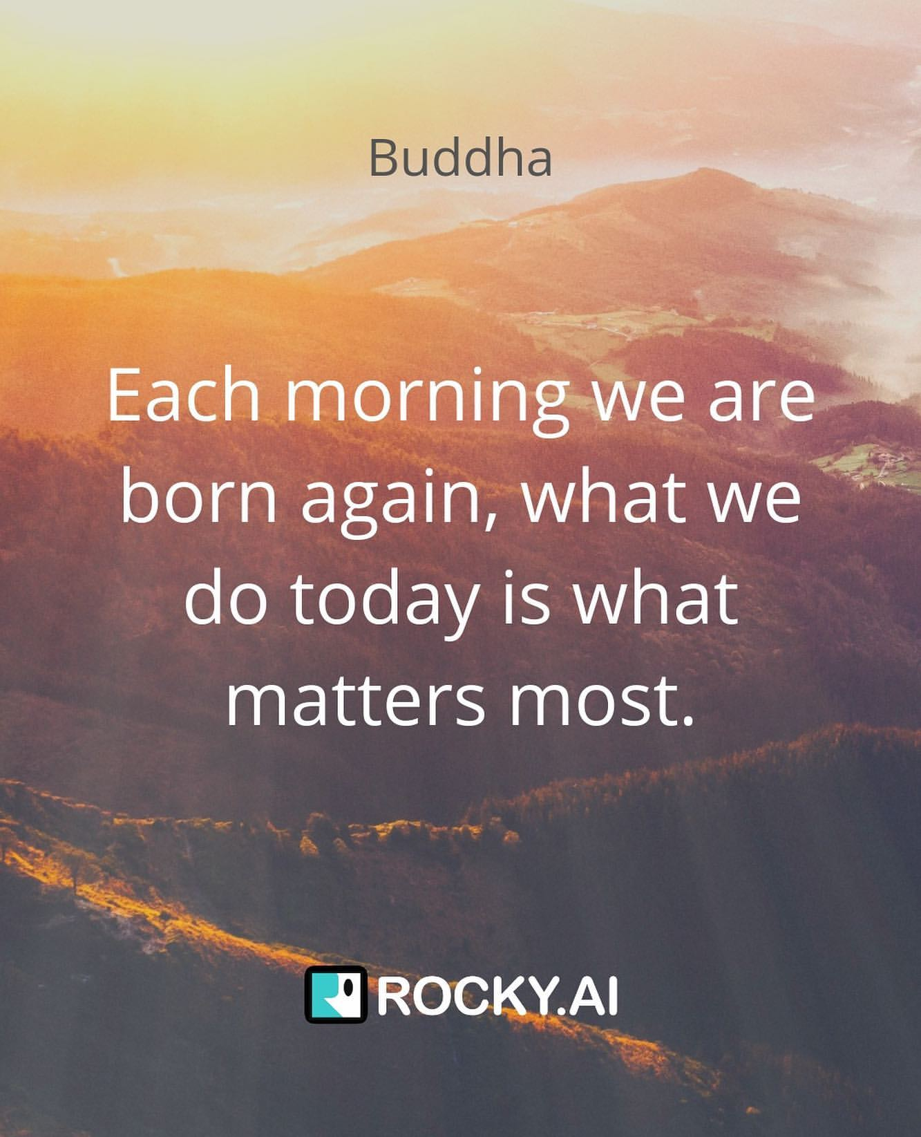 Yesterday might not have been the most satisfying day for you, but we can start strong again today. Set intentions of your day in the morning and live your day to its fullest.