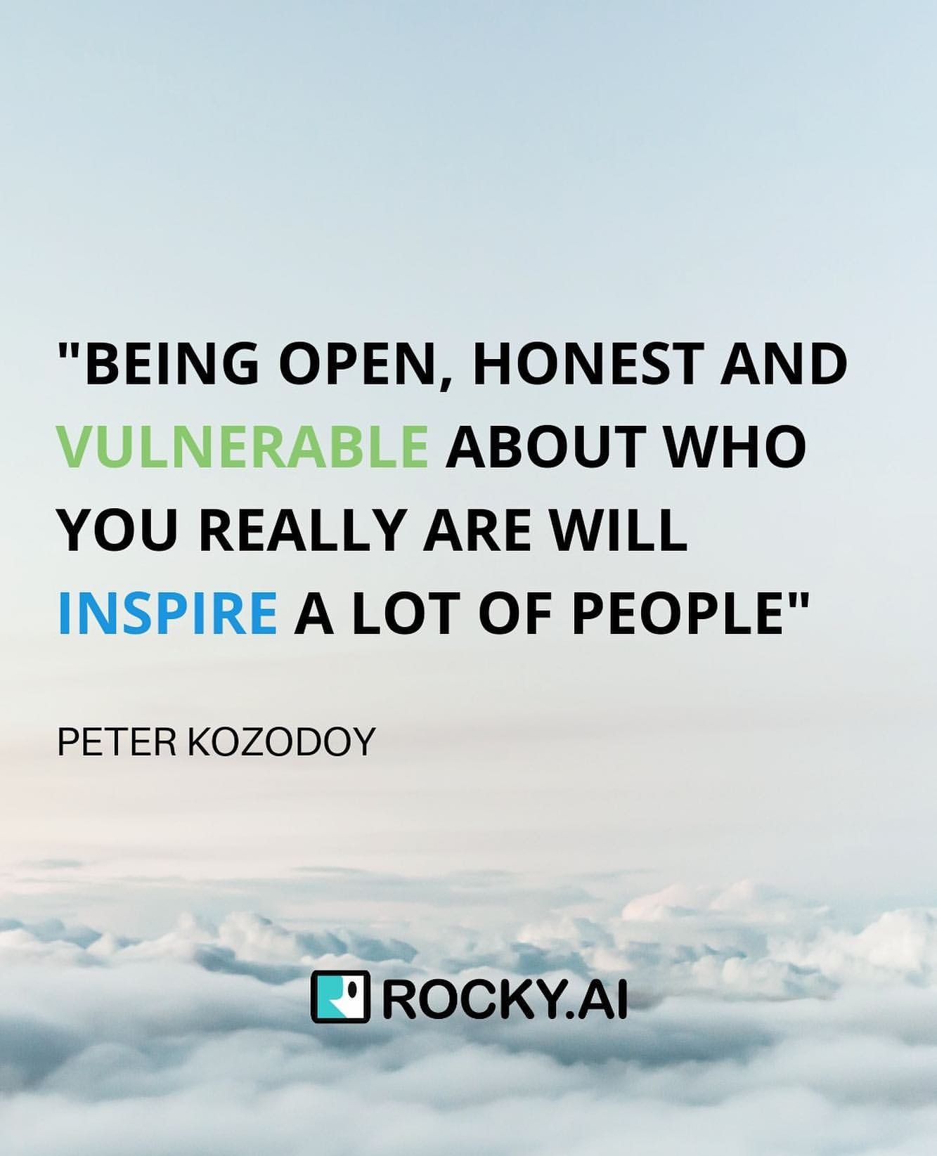In building trust as leaders, willingness to be open and honest can be powerful, even if it makes them vulnerable — people can easily sense in authenticity. ⁣However, some think leaders showing vulnerability is not ideal. What is your take on this?