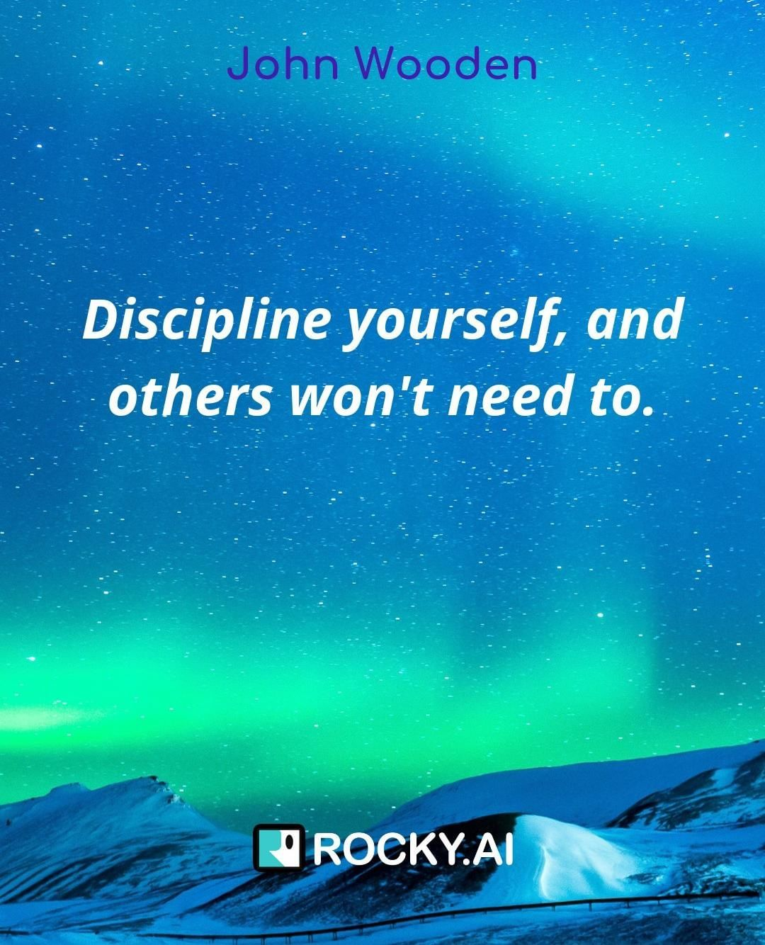 "What are your routines to be a disciplined leader? ""Discipline yourself, and others won't need to."" #focus #leadership #entrepreneur #business #success #inspiration #work #entrepreneurlife #entrepreneurship #businessowner #entrepreneurquotes #entrepreneurlifestyle #mindset #startuplife #goals #quoteoftheday #tech #startups #grind #leadershipdevelopment #personalgrowth #leadershipcoach #mindsetiseverything #conciousculture #alwayslearning #selfdevelopment #leadbyexample #businesscoach #femaleentrepreneur #lifecoach"