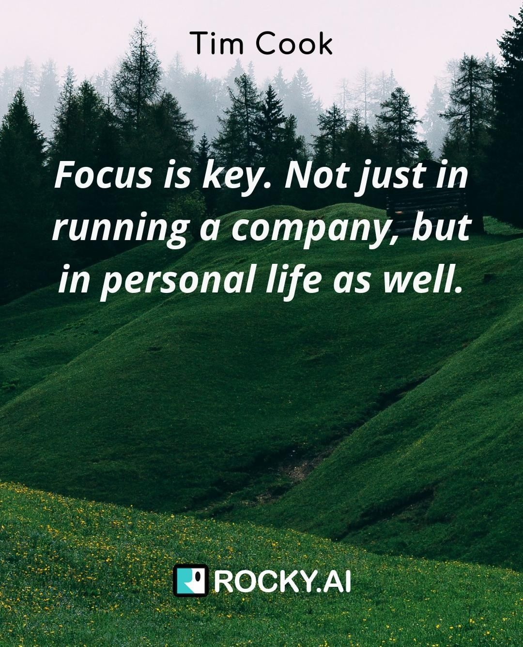 "What do you define as focus? ""Focus is key. Not just in running a company, but in personal life as well."" #focus #leadership #entrepreneur #business #success #inspiration #work #entrepreneurlife #entrepreneurship #businessowner #entrepreneurquotes #entrepreneurlifestyle #mindset #startuplife #goals #quoteoftheday #tech #startups #grind #leadershipdevelopment #personalgrowth #leadershipcoach #mindsetiseverything #conciousculture #alwayslearning #selfdevelopment #leadbyexample #businesscoach #femaleentrepreneur #lifecoach"