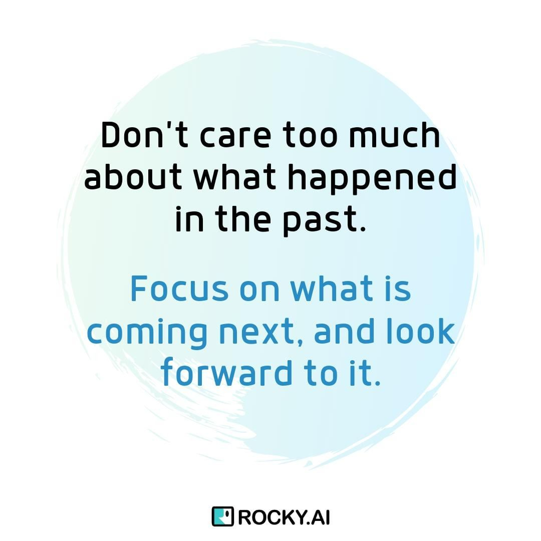 "What is coming next for you? ""Don't care too much about what happened in the past. Focus on what is coming next and look forward to it."" #focus #leadership #entrepreneur #business #success #inspiration #work #entrepreneurlife #entrepreneurship #businessowner #entrepreneurquotes #entrepreneurlifestyle"