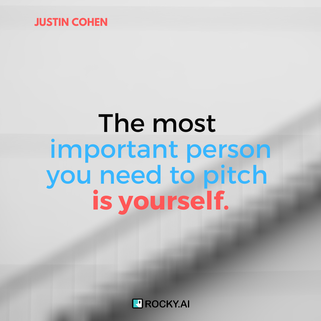 I will clearly define the purpose and the value of my offerings, #JUSTINCOHEN