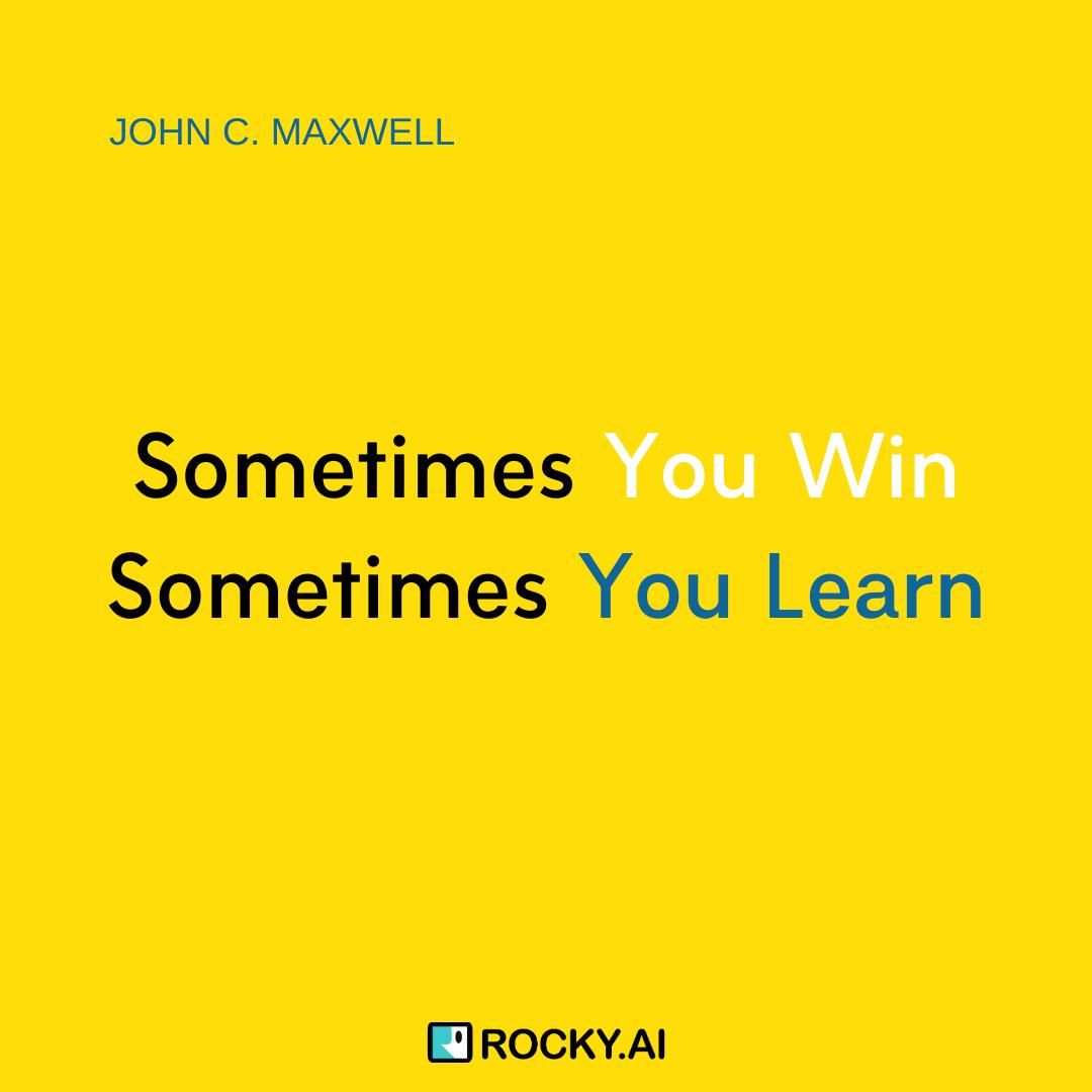 #JohnMaxwell