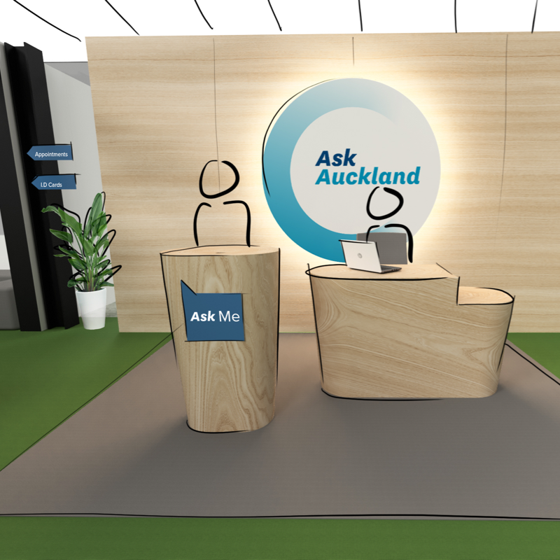 Ask Auckland mockup