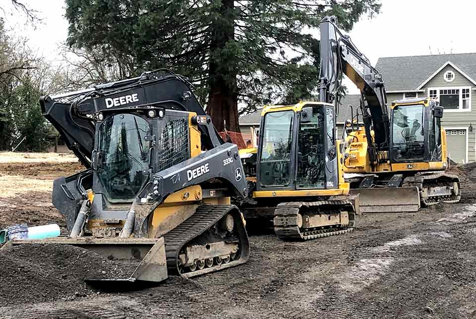 Todd Albert 85g Excavation in Action - Beaverton Oregon