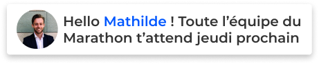 Mathilde bénévole sportif bénégo