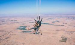 Les clubs de parachutisme