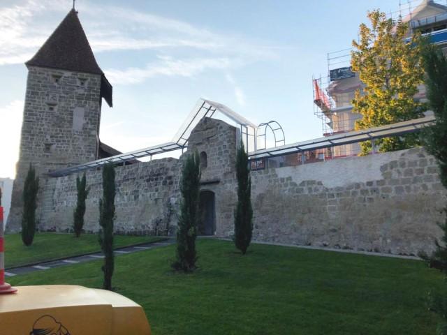 Nettoyage monument historique