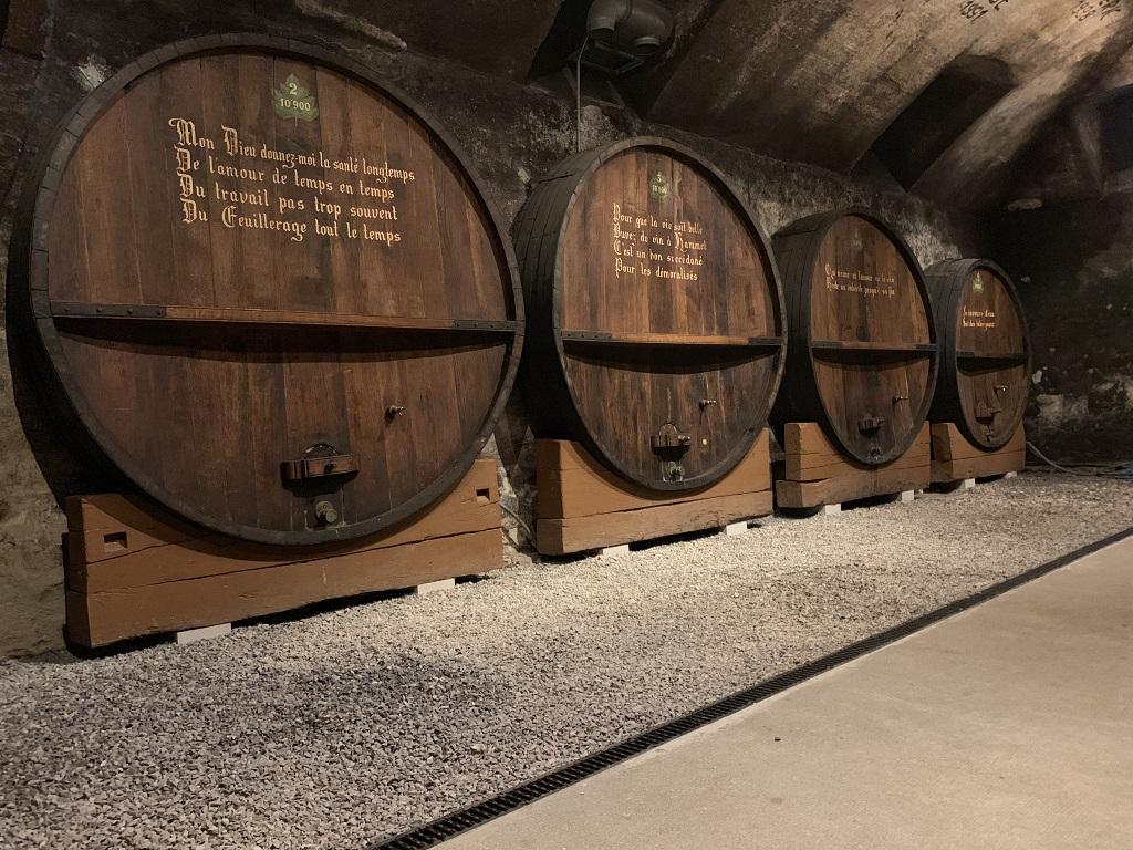 Microgommage cave à vin Gaillard