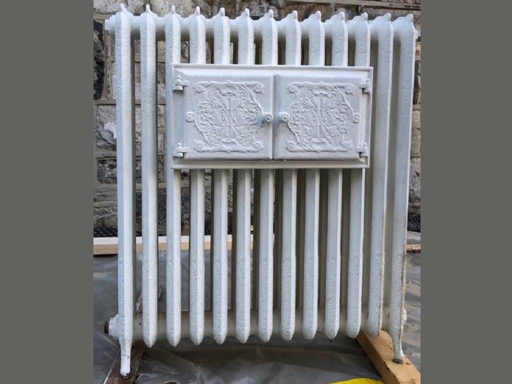 Sablage de radiateur