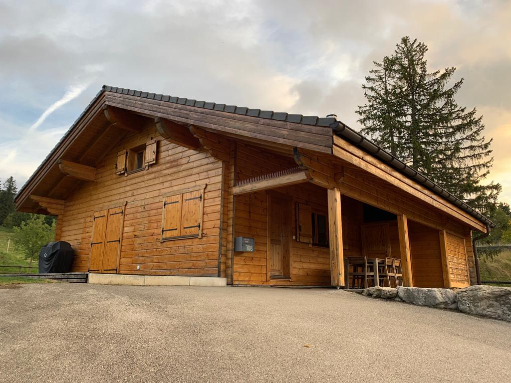 Microgommage chalet