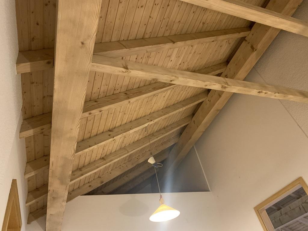 Sablage et gommage plafond