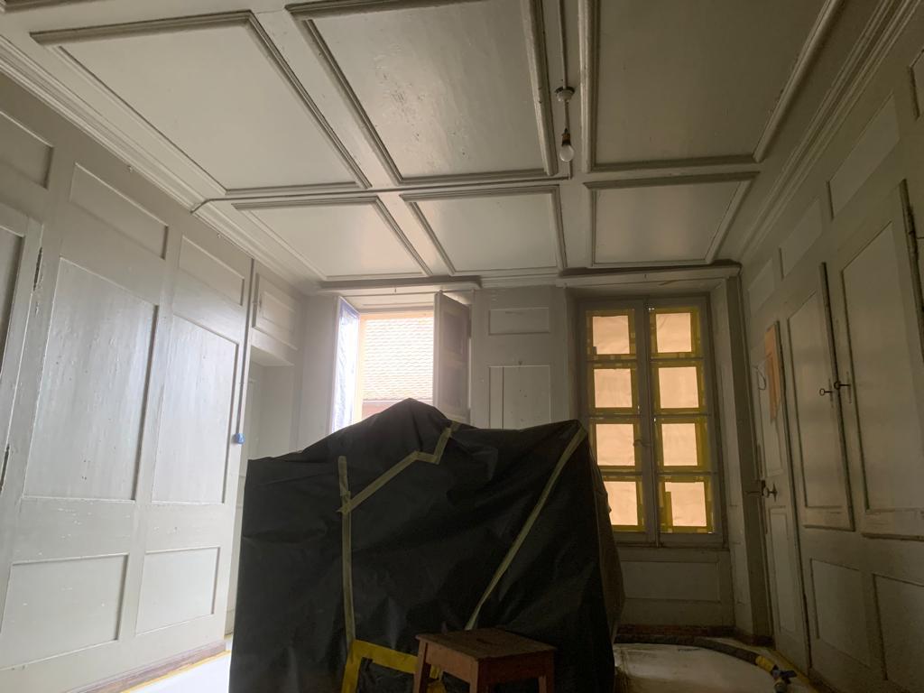 Décapage peinture par microgommage à Concise VD 2/2