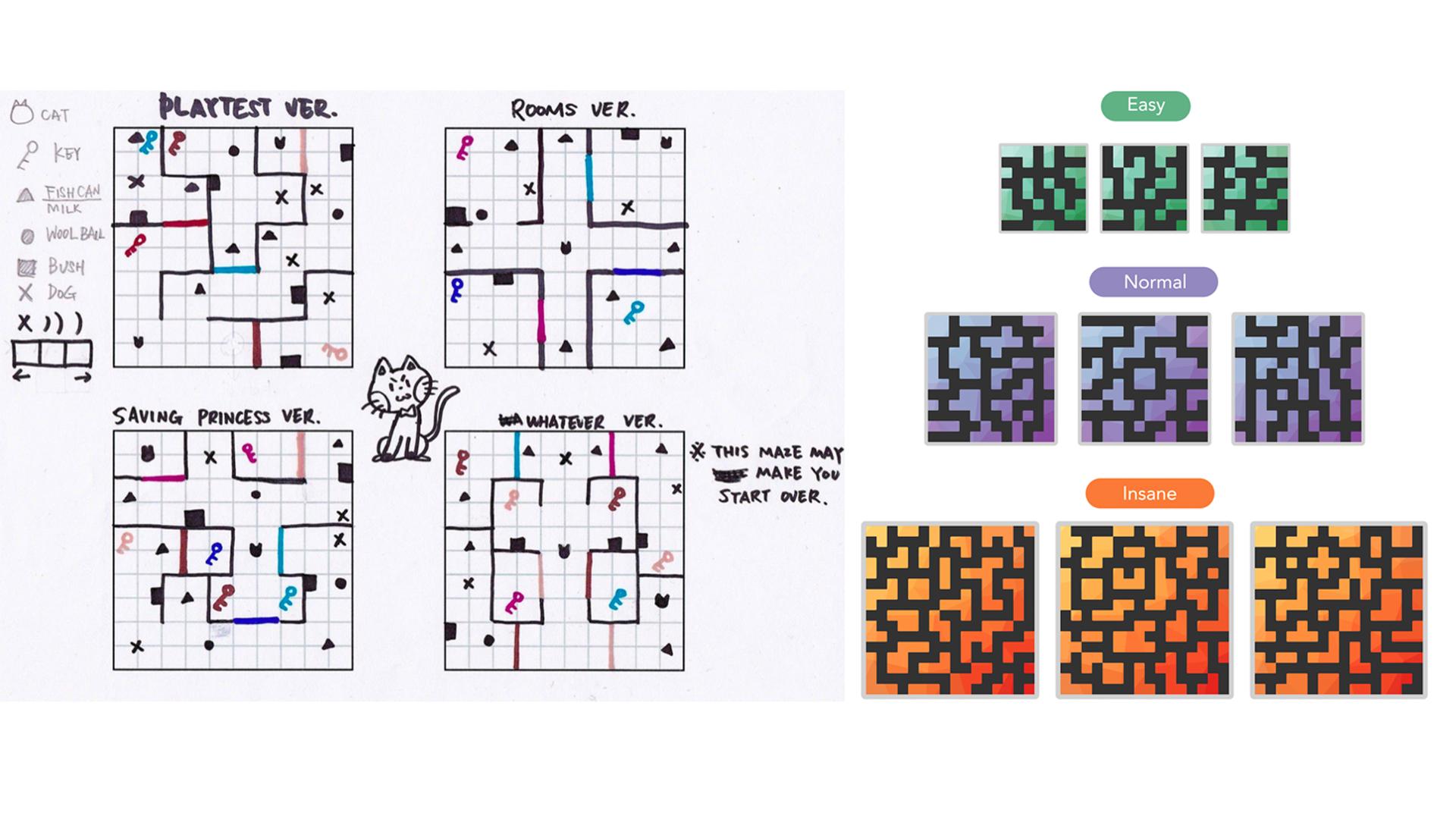 Shiwei Design - Cat-Chup! - 2 5D Casual Game