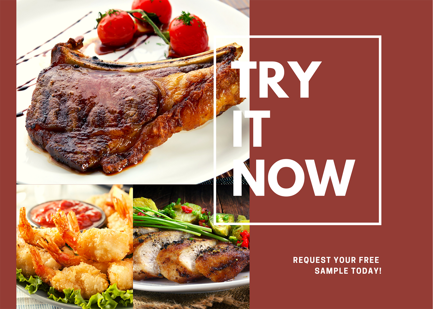Request A Free Food Sample Now